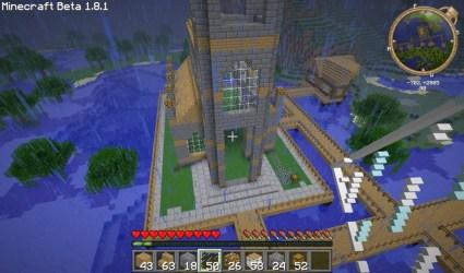 minecraft church build tutorials awesome tutorial building churchm ag