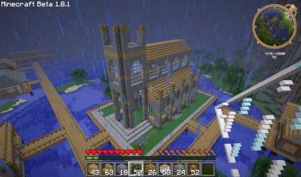 minecraft church build tutorials awesome tutorial building