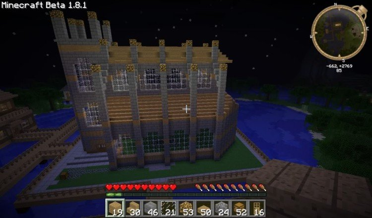 How to build a Minecraft church 13