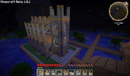 minecraft church build tutorials awesome