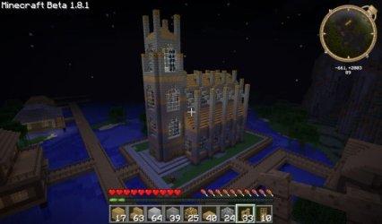minecraft church build awesome tutorials minecraftforum via