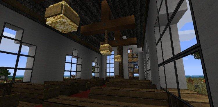 Minecraft church 3