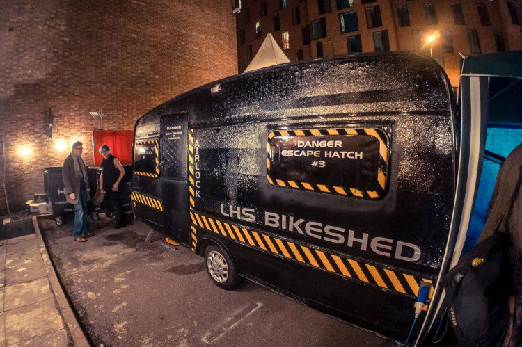 LHS BIKESHED 1