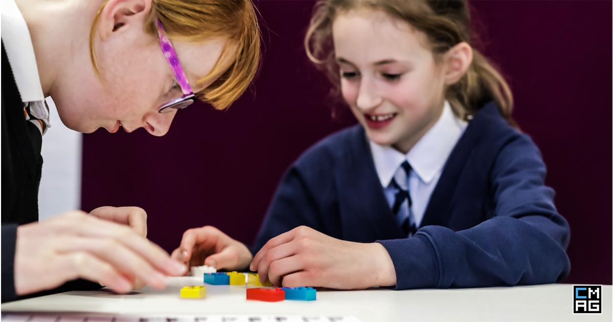 lego braille bricks and children's ministry