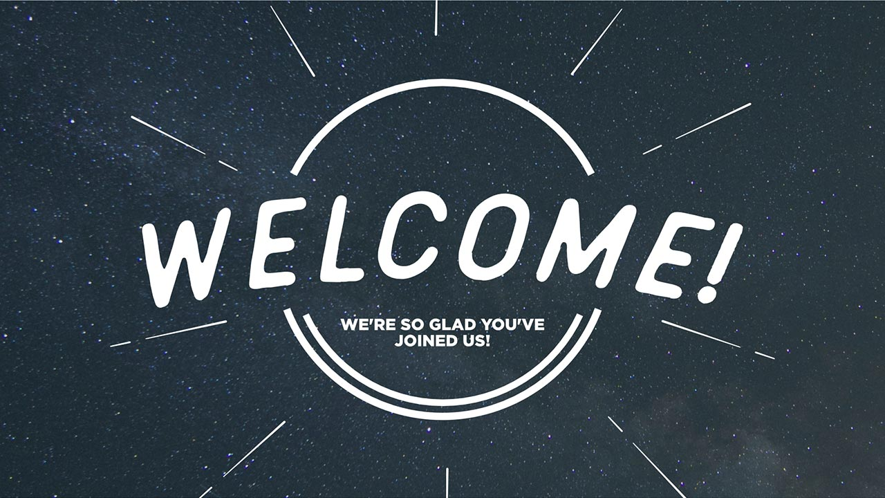 Name Of Logos Around The World >> Generic Welcome Slides | Church Media Drop