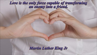 Martin Luther King Jr Quote 1 Christian Animated Still A professional animated intro that's stops on a still image without continuous movements distraction