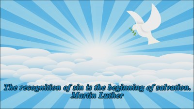 Martin Luther Quote 8 Christian Animated Still A professional animated intro that's stops on a still image without continuous movements distraction