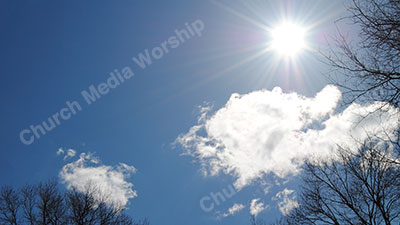 Sun through the trees V2 Christian Worship Background. High quality worship images for use to spread the Gospel and enhance the worship experience.