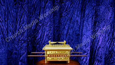 The Ark of the Covenant V3 Purple Christian Worship Background. High quality worship images for use to spread the Gospel and enhance the worship experience.