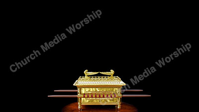 The Ark of the Covenant V3 black Christian Worship Background. High quality worship images for use to spread the Gospel and enhance the worship experience.