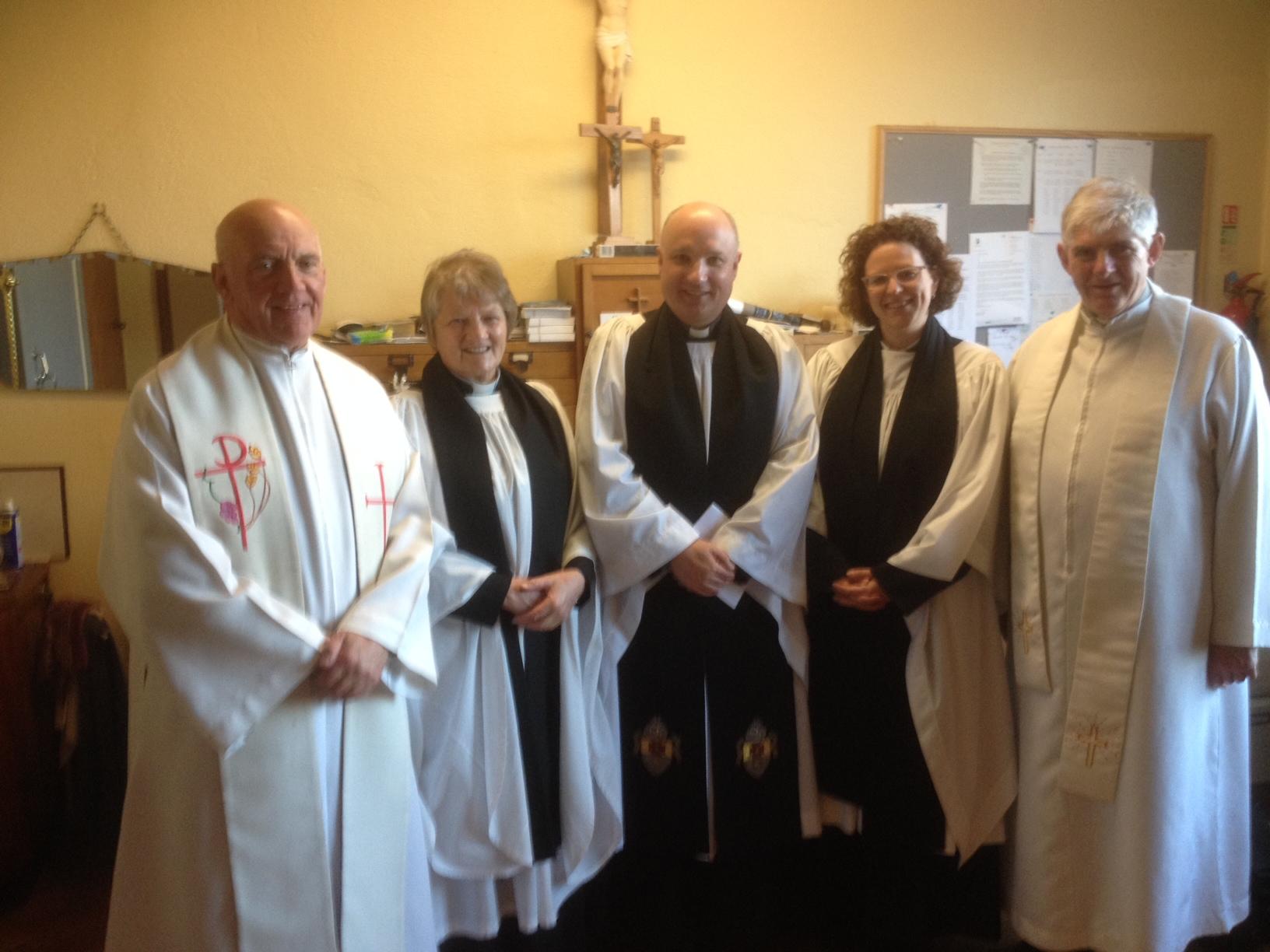 Church Of Ireland Clergy Join In Golden Jubilee Of Rc Church In Blackrock Cork