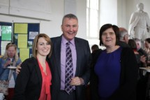 Hilda Connolly (Youth Worker), Billy Skuse (Diocesan Secretary, and Mrs Judith Peters