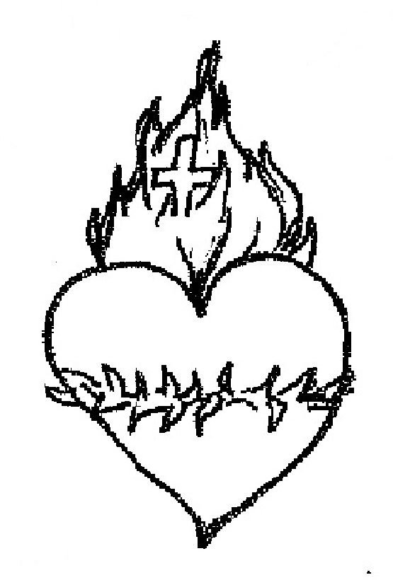 St Margaret Mary Alacoque Coloring Page Sketch Coloring Page