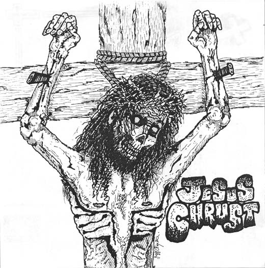 Jesus Chrust - Blasphemy E.P. - 1990