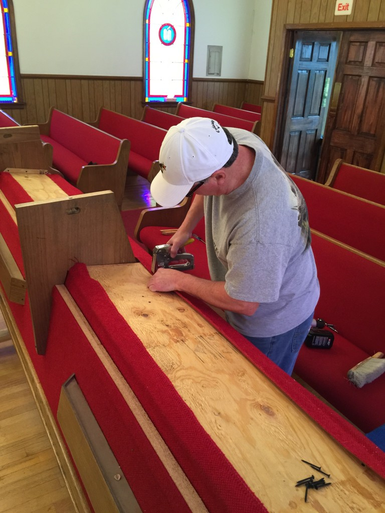 Church Pew Repair Church Pew Repair