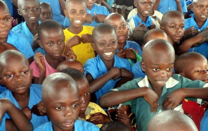 Children at God's Mercy School in Uganda