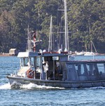 The Amelia K, Church Point Ferry Service, Pittwater NSW