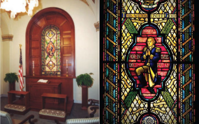 Inside the Private Congressional Prayer Room Hidden in the US Capitol  ChurchPOP
