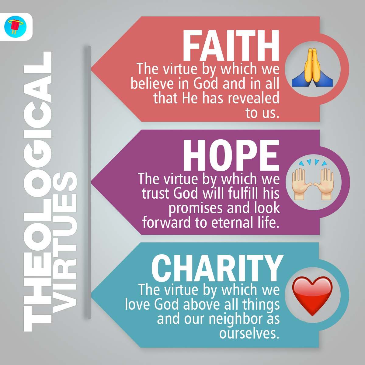 The 3 Theological Virtues Every Catholic Should Know In