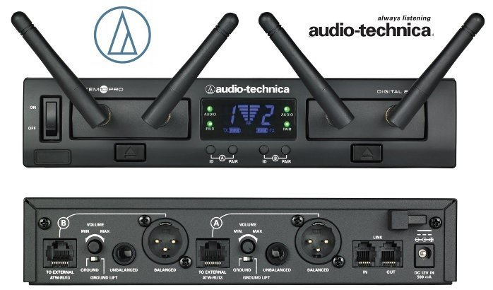 wireless microphones for the church sound system