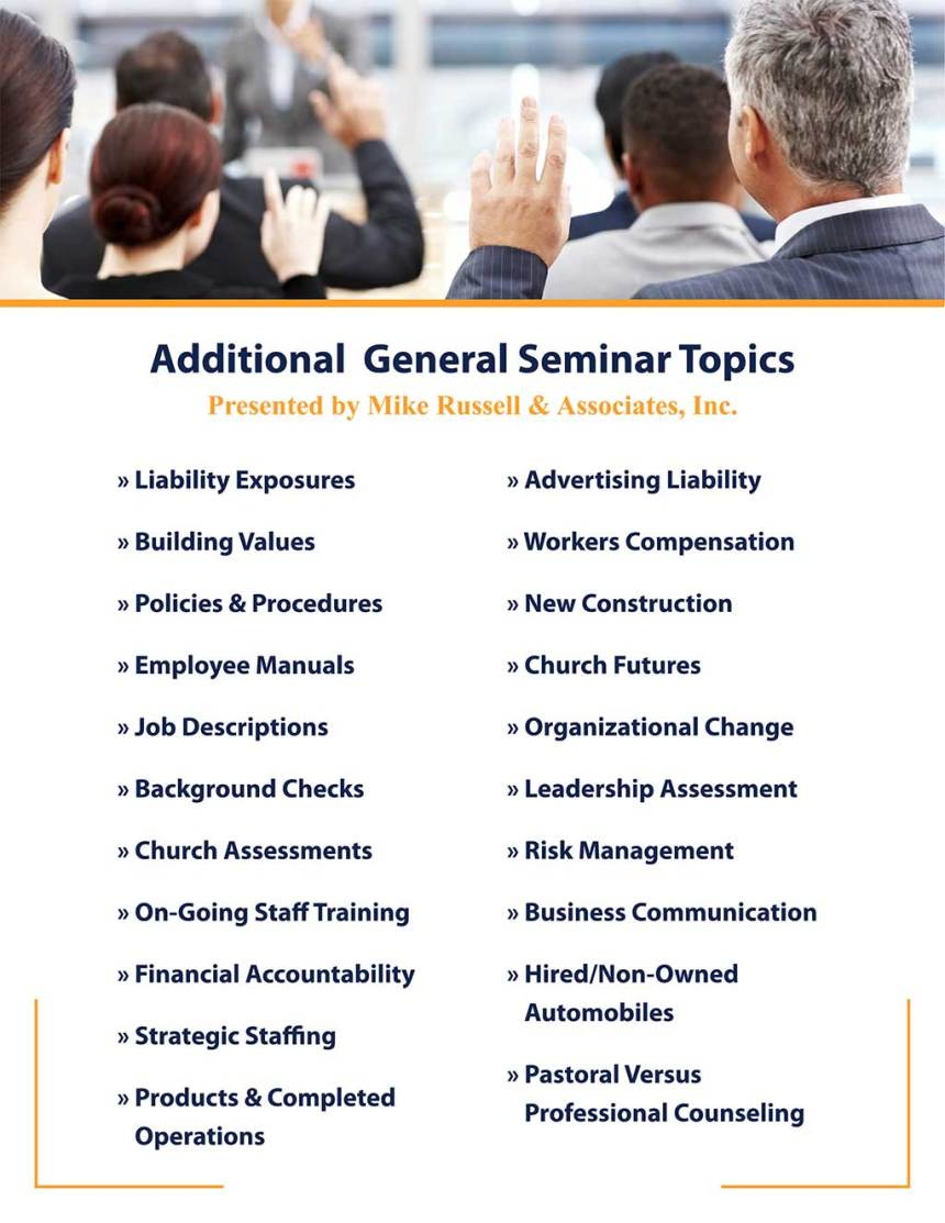 covenant center-seminars flyer