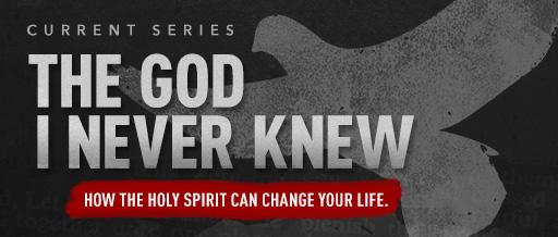 The God I Never Knew Church Sermon Series Ideas