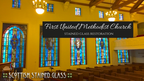 del rio church stained glass restoration