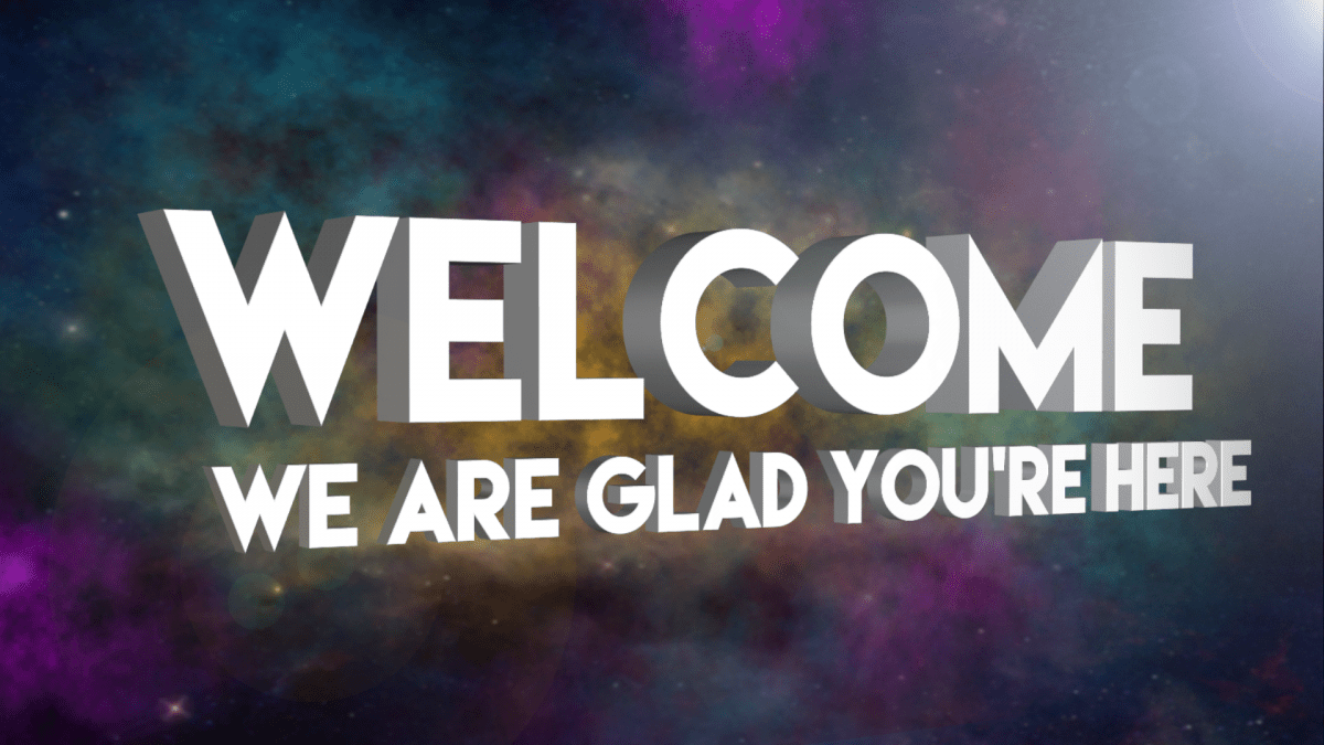 free welcome slides church church support