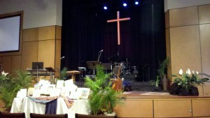 The Vine stage at First-Centenary UMC