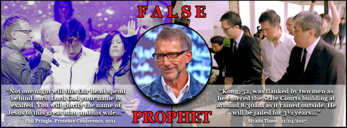 False Prophet Phil Pringle - Kong Hee CHC