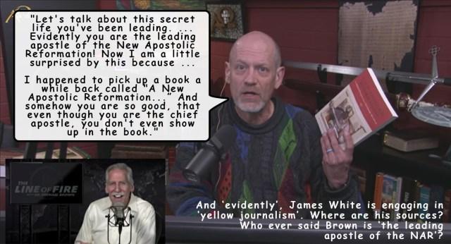 James White NARpostle Michael Brown