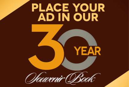 Become A Part of the 30th Anniversary Souvenir Book – DEADLINE EXTENDED