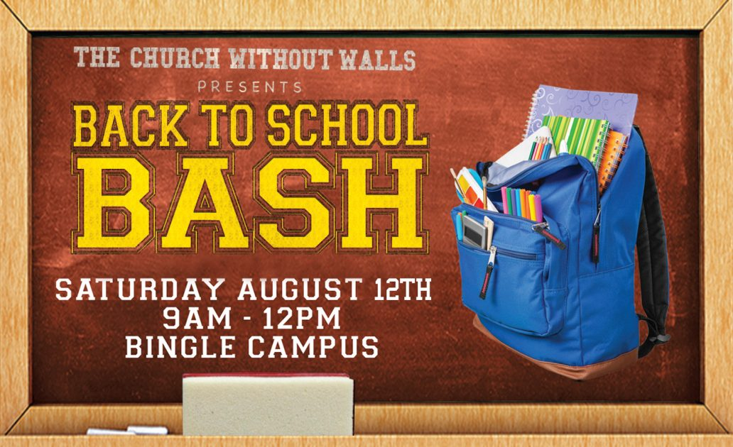 We Need You: Volunteer Today for the Back to School Bash