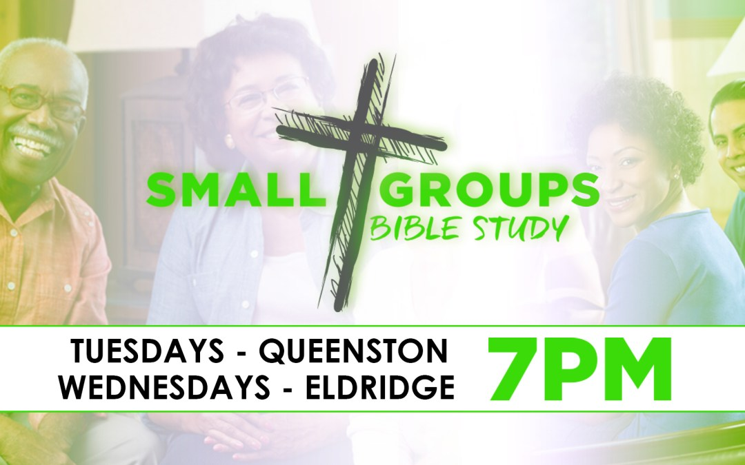 Register Now – New Small Group Bible Studies Session Begins May 1st