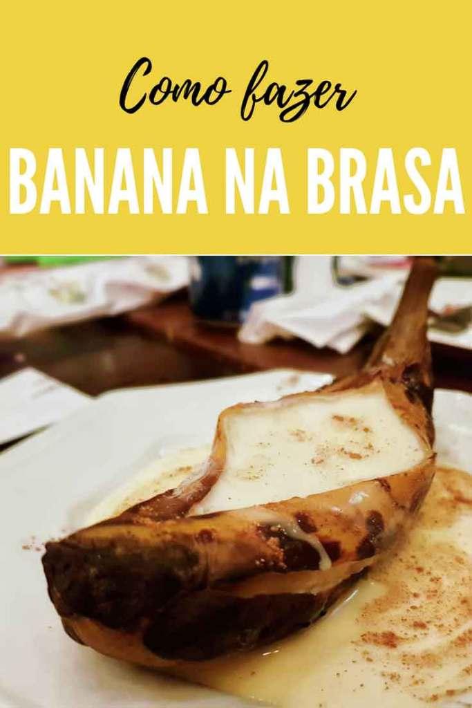 Banana na Brasa