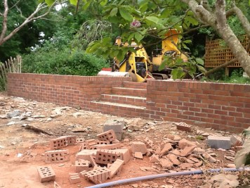 Landscaping and extension Brixham 14