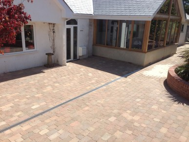 Landscaping and extension Brixham 18
