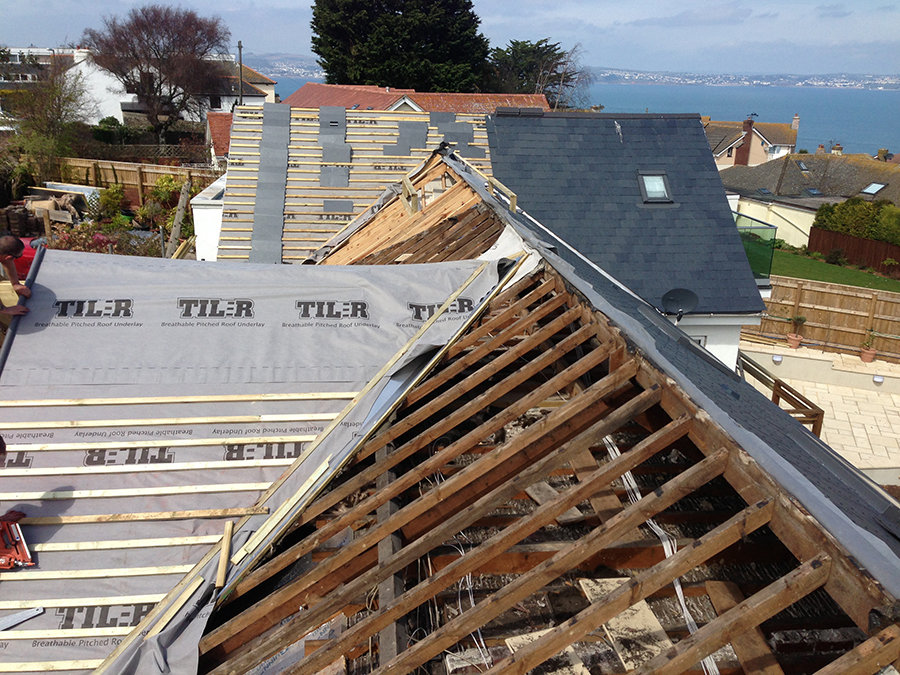 Landscaping and extension Brixham 7