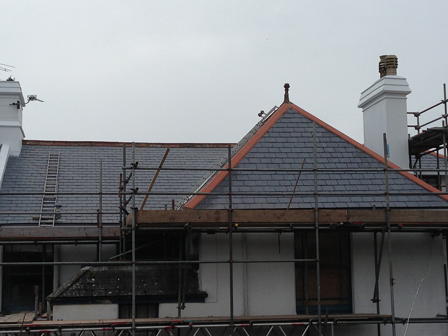 Churston Builders roof replacement