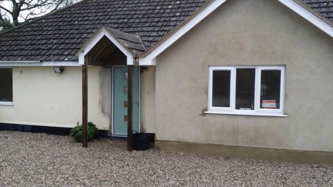 New front door and rerender.