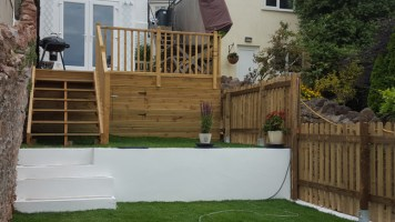 Torbay Builder Garden Renovation 2