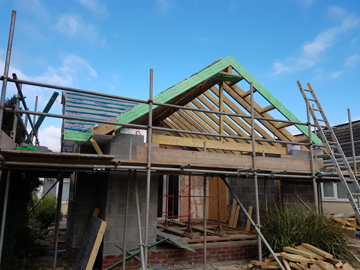 Torbay South Hams Builder - Gable extension 7