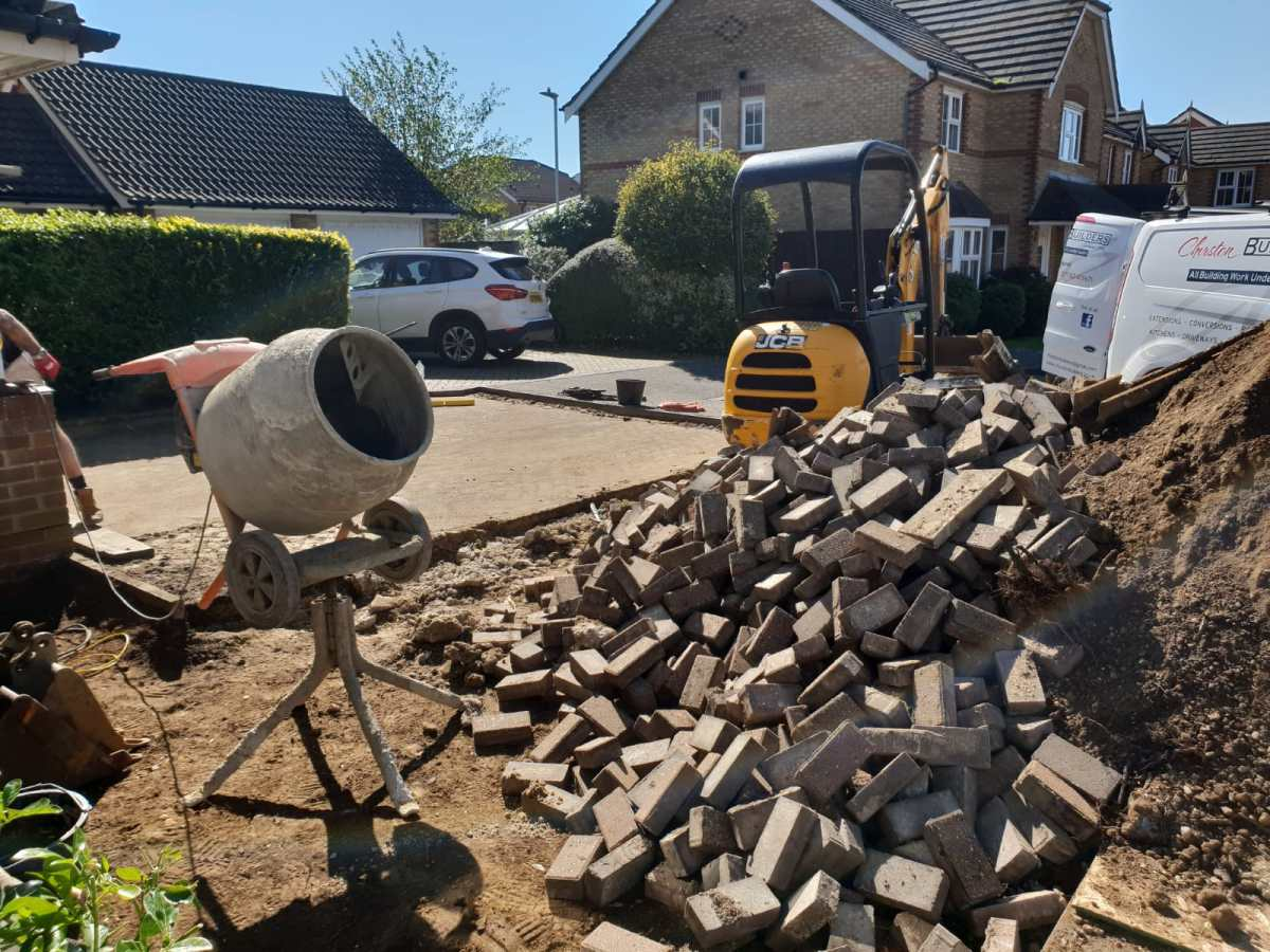 Churston Builders block paving 3