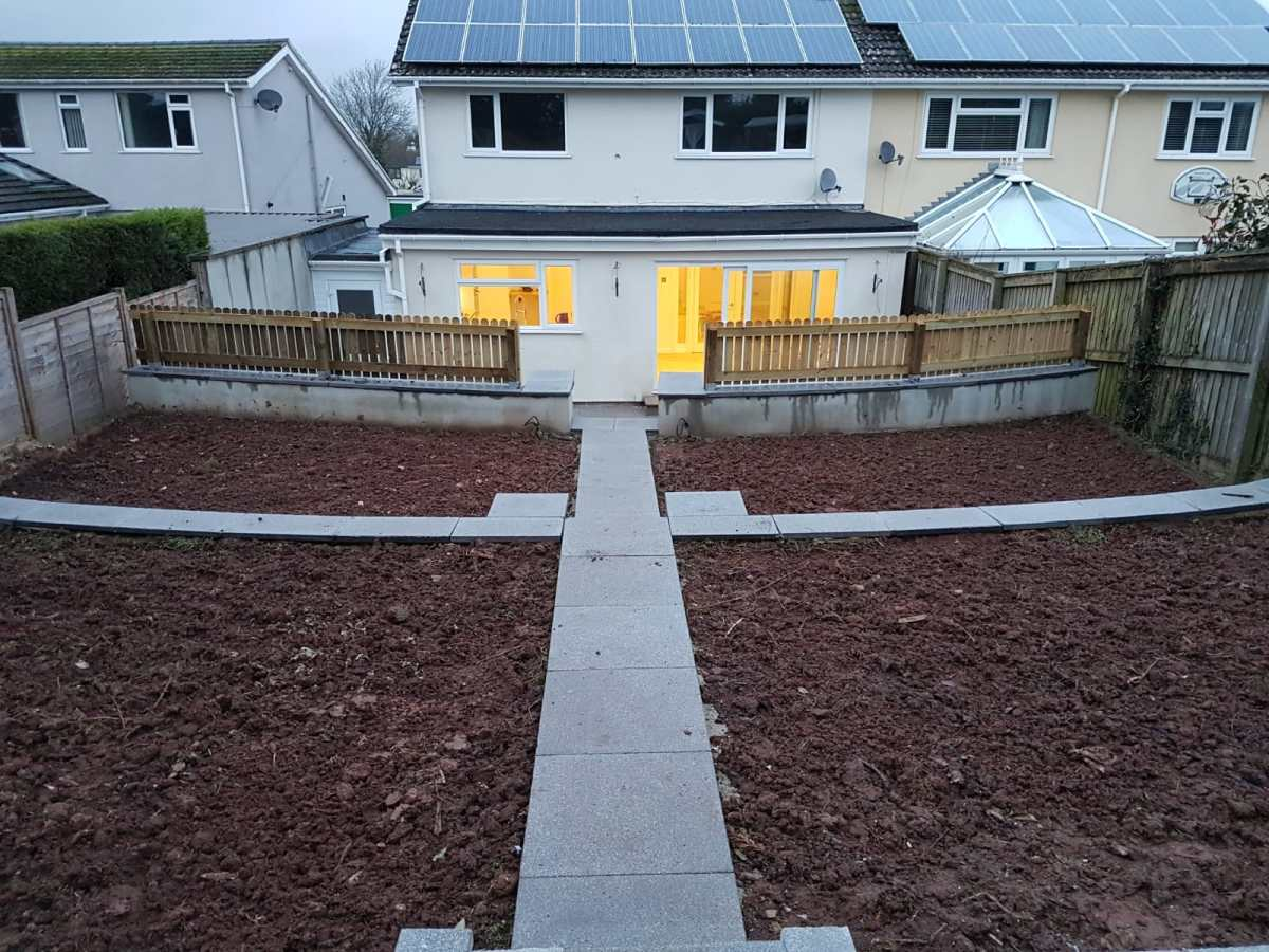 Garden refurbishment Paignton 9