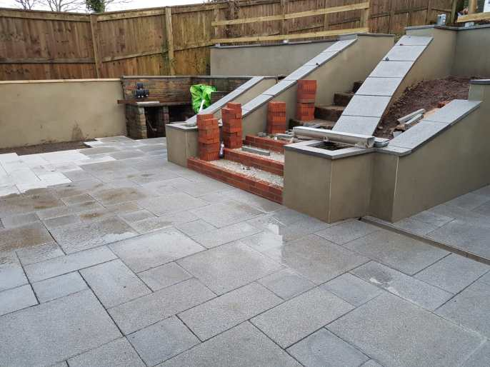 Garden refurbishment Paignton 8
