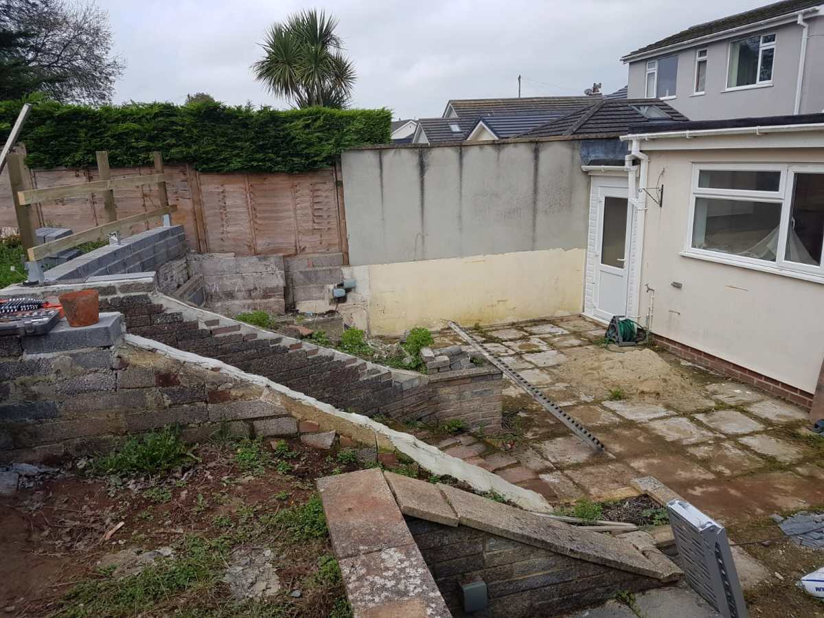 Garden refurbishment Paignton 5