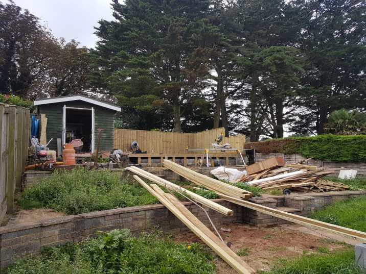 Garden refurbishment Paignton 1