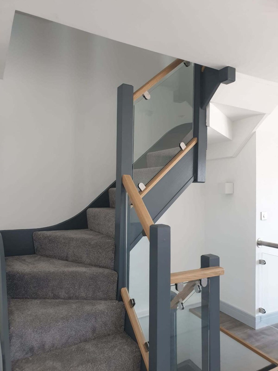 New build staircase