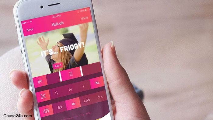 GifLab ứng dụng cho phép tạo ảnh GIF đơn giản nhất trên iOS
