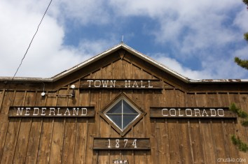Our last stop on the drive: town of Nederland